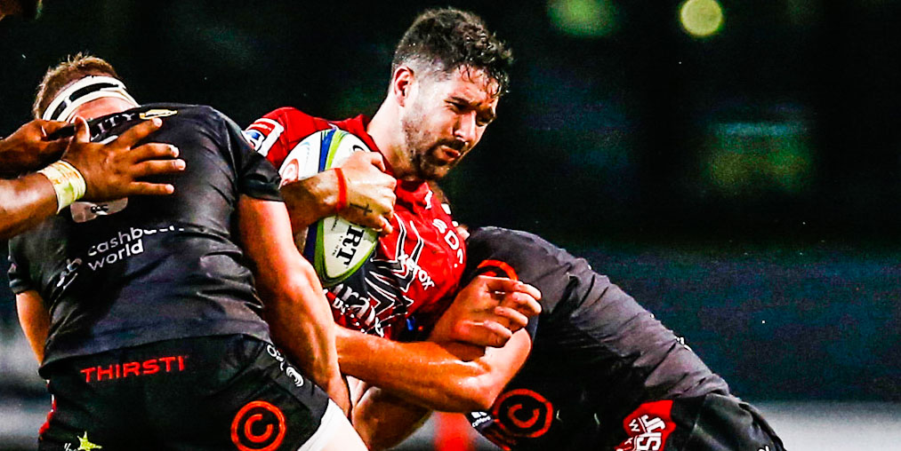 EW Viljoen in action for the Lions during Vodacom Super Rugby Unlocked last year.