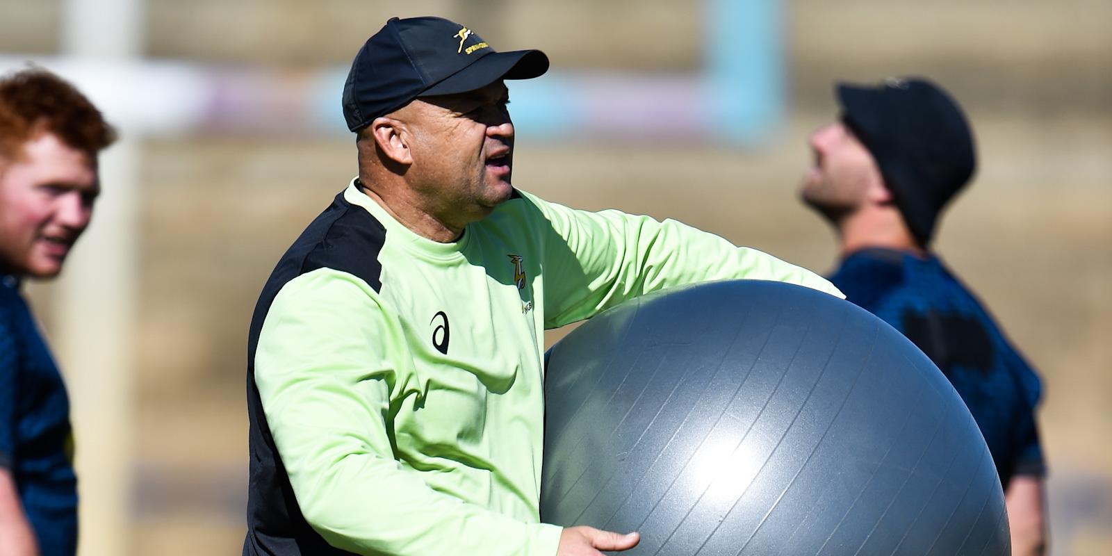 Springbok assistant coach Deon Davids