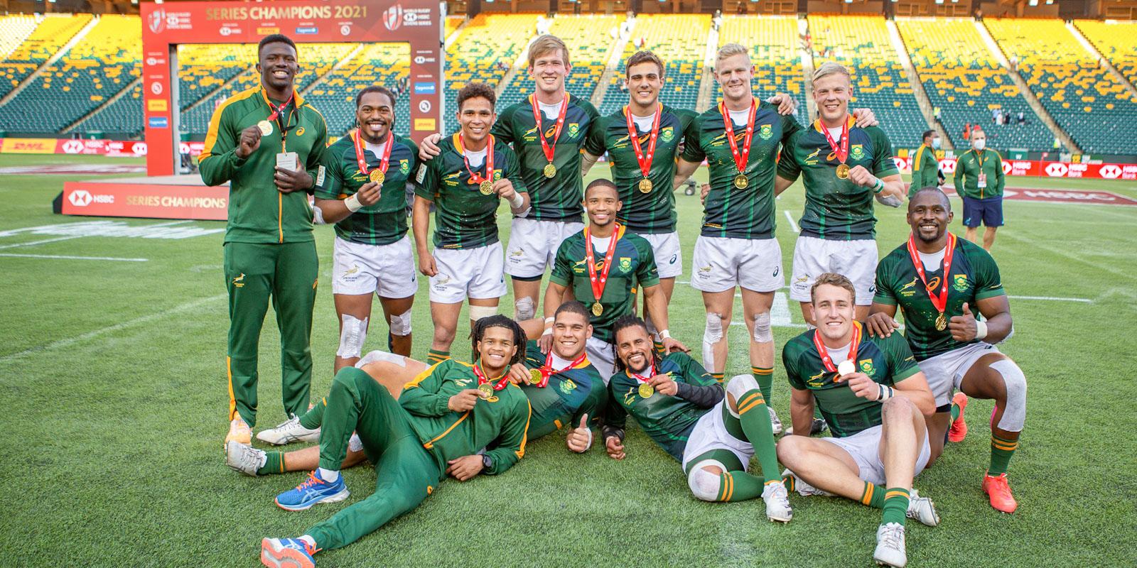 HSBC World Rugby Sevens Series 2021 winners.